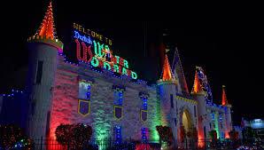 Amish Christmas Lights Dutch Wonderland Amusement Park Lancaster Harvest Drive Family