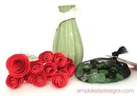 Paper Roses Persimmon Paper Roses Simply Kelly Designs