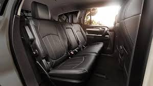 Car That Seats 5 Comfortably 2017 Buick Enclave Mid Size Luxury Suv Buick