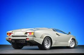 last car ever made autoart lamborghini countach 25th anniversary silver lamborghini
