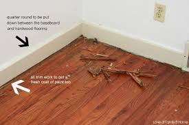 Expansion Gap For Laminate Flooring Laminate Flooring Baseboard Gap