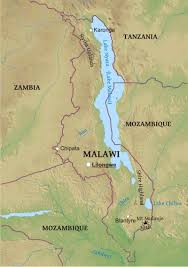 Geographical Map Maps Of Malawi Bizbilla Com