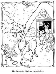 874 christmas winter coloring pages images
