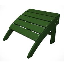 Plastic Ottoman Shop Trex Outdoor Furniture Plastic Ottoman At Lowes