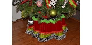 brown christmas tree skirt christmas tree skirt lime green zebra