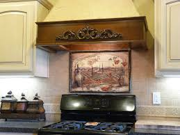 Kitchen Tile Backsplash Murals Kitchen Kitchen Tile Murals Pacifica Art Studio Tuscan Backs