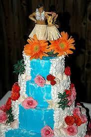 island themed wedding hawaiian themed wedding cake