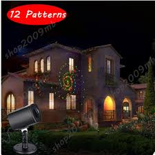Outdoor Laser Projector Christmas Lights by Decorative Outdoor Holiday Christmas Lights Show Laser Projector