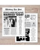 newspaper wedding programs spectacular deal on modern vintage pink floral wedding program card