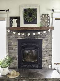 fireplace decorating ideas best 25 fireplace decor summer ideas on pinterest summer mantel