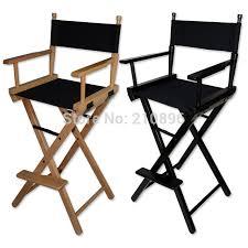 folding aluminum director chair portable makeup chair wood chair