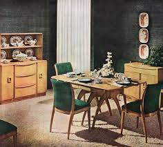 Dining Room Suite Heywood Wakefield Dining Room Suite Late 40s Mid Century