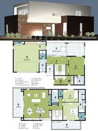 ultra modern live work house plan 61custom contemporary