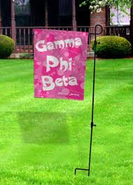 sorority garden flag with stand sale 24 95 gear