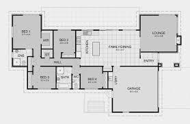 Three Bedroom Ranch Floor Plans Three Bedroom Homes Amazing 1 Bedroom House On Floor With Three