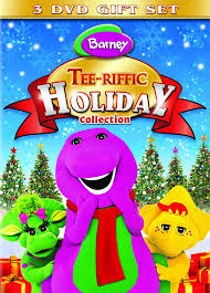 amazon com barney tee riffic holiday collection can you sing