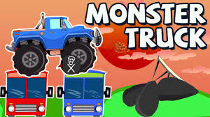 kids monster truck videos monster truck crazy monster truck cartoon for kids cartoon