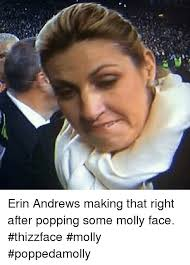 Erin Meme - 2의 erin andrews making that right after popping some molly face
