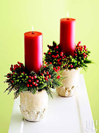 Decoration Christmas Candle by Crafty Christmas Candle Displays