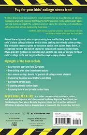 Seeking Parents Guide Cliffsnotes Parents Guide To Paying For College And Repaying