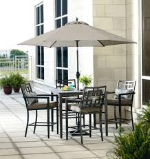 Patio High Table by Ty Pennington Style Jefferson 5 Piece Cushion High Dining Set