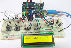 Variable Bench Power Supply With Lcd And Monitor Display Arduino Based Variable Power Supply Circuit Diagram And Code