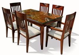 value city furniture dining room sets sets unpolished teak wood