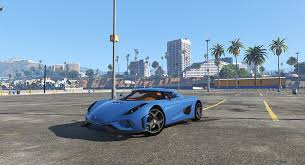 koenigsegg one blue one gear handling for koenigsegg regera gta5 mods com