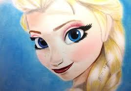 elsa from frozen color drawing by jasminasusak on deviantart