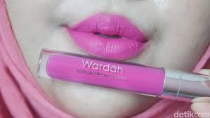 Lipstik Wardah Pink product review lipstik cair terbaru dari wardah yang tahan lama