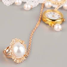 pearl fashion bracelet images Jubaoli fashion women wristwatch watch strap ladies lace imitation jpg