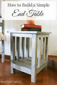 How To Build An End Table Best 25 End Table Plans Ideas On Pinterest 2x4 Furniture