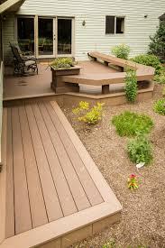 deck with built in benches in elizabethtown pa stump u0027s decks