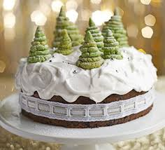 Christmas Cake Decorations With Fruit by Enchanted Forest Christmas Cake Recipe Bbc Good Food