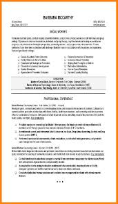 examples of social work resumes resume example and free resume maker