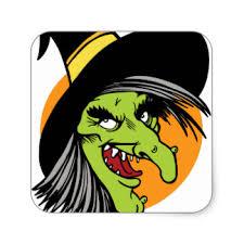 halloween face stickers zazzle