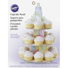 baby shower cupcake stand wilton