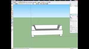 canap sketchup tutorial sketchup sofa