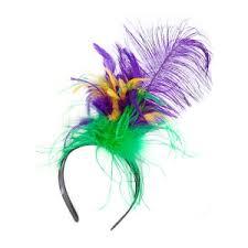 mardi gras headband mardi gras feather headband international shop
