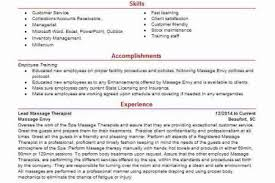 Massage Therapy Resume Examples by Resume With Company Icon Reentrycorps