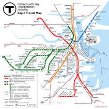 Boston Medical Center Map by Mbta U003e About The Mbta