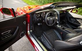 bentley sports car interior 2013 bentley continental gtc v8 editors u0027 notebook automobile