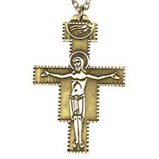pectoral crosses for sale san damiano bishop clergy neck pendant pectoral cross crucifix in