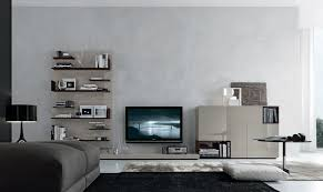 home interior design with modern open wall system furniture series