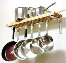 kitchen pot rack ideas pan ceiling rack mounted pot racks kitchen overhead pot hanger