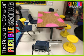 the pros and cons of flexible seating sharing kindergarten