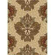 Rugs In Home Depot Orian Rugs Harrison Bisque 7 Ft 10 In X 10 Ft 10 In Area Rug