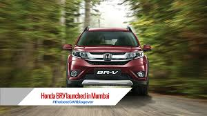 mobil honda brv honda brv launched in mumbai the best car blog ever