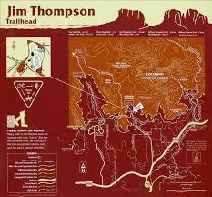Mesa Az Map Brins Mesa Trail Hiking Sedona Az