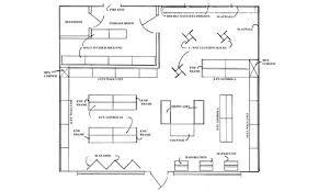 retail shop floor plan sporting goods handy store fixtures